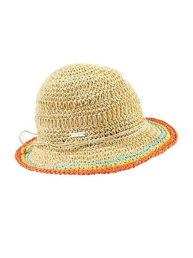 Seeberger - Gehaakte hoed van zuiver papierstro