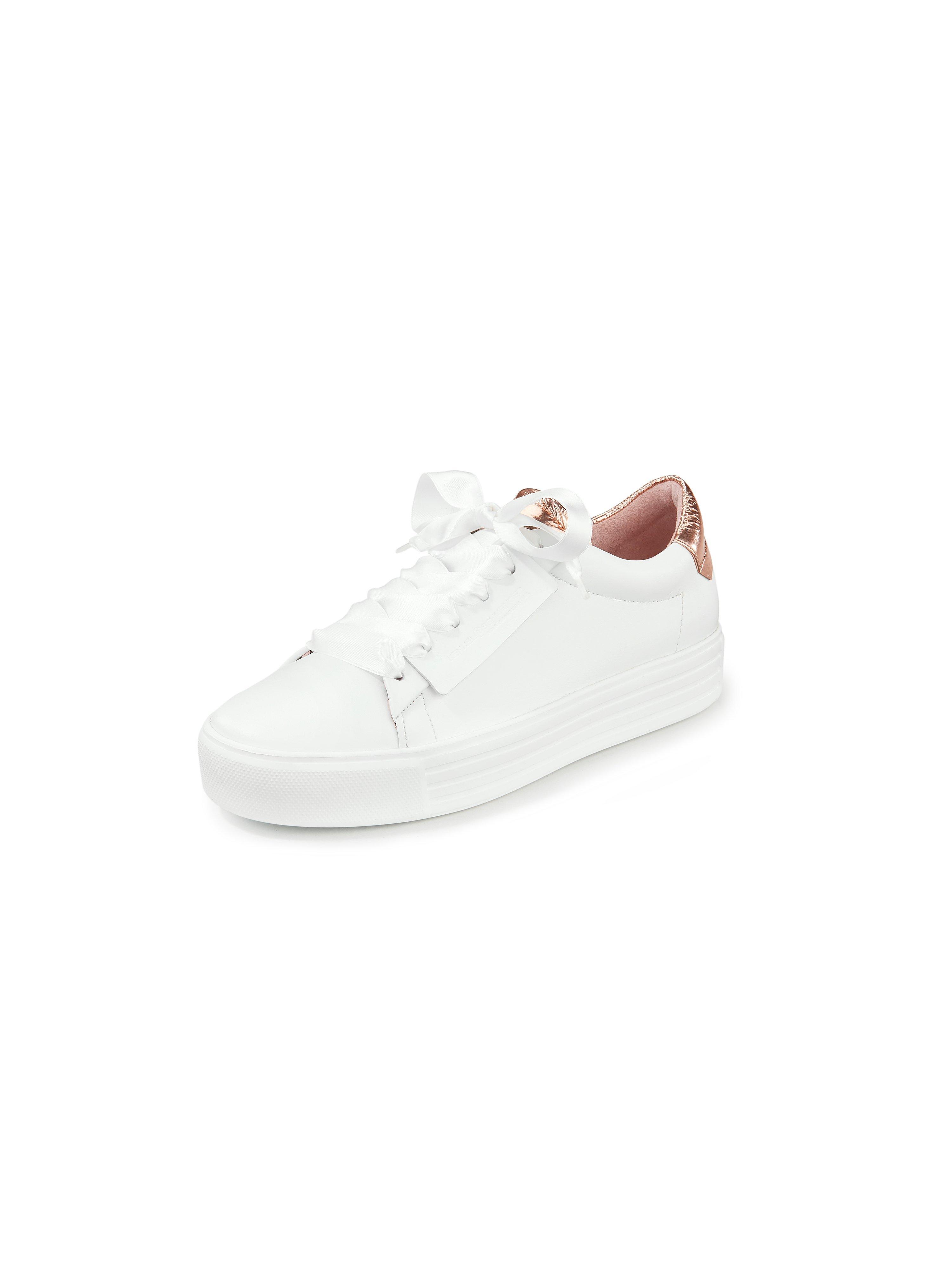 Sneakers Up van kalfsnappaleer Van Kennel & Schmenger wit