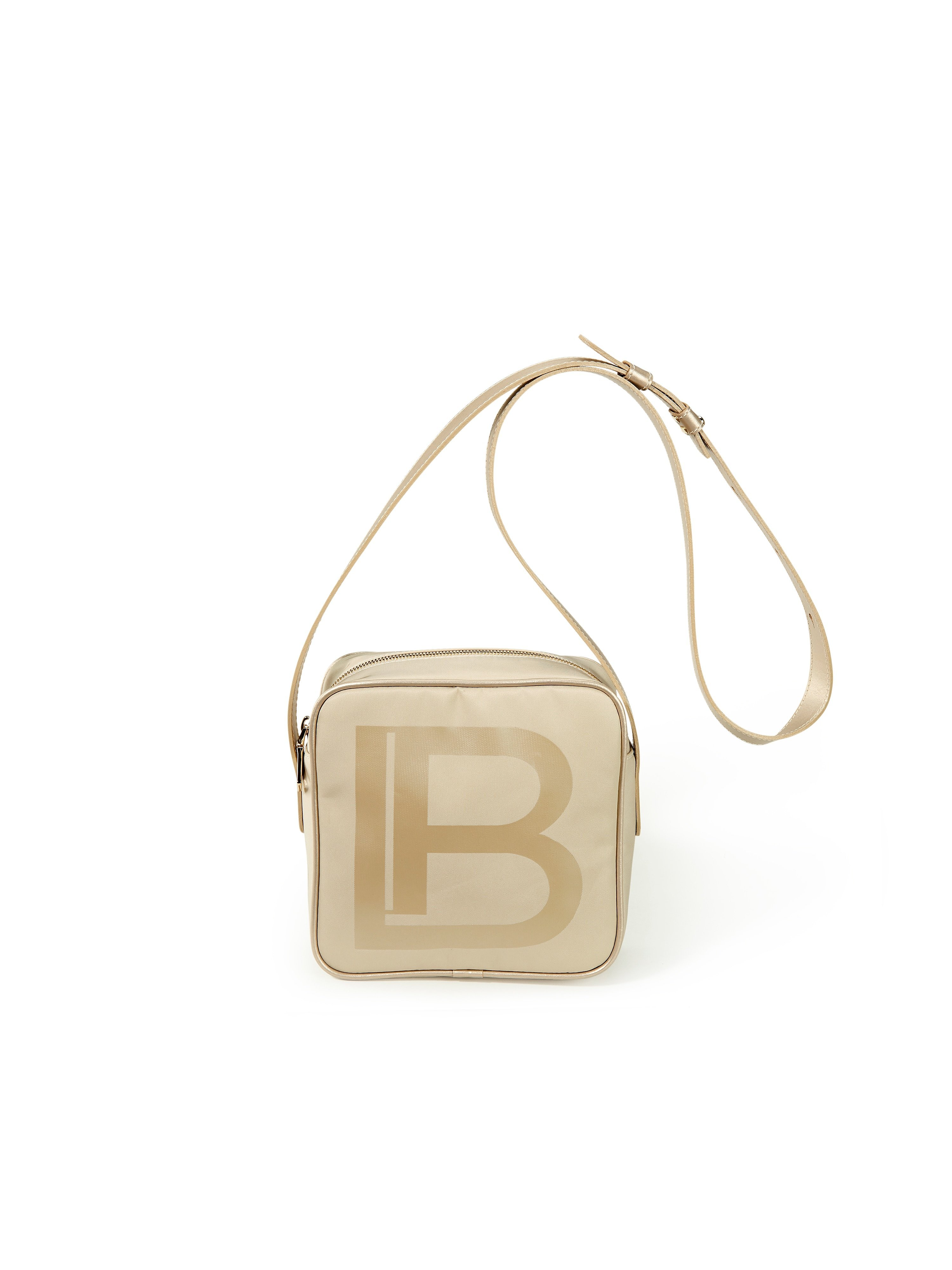 Tas logoprint Van Laura Biagiotti ROMA beige