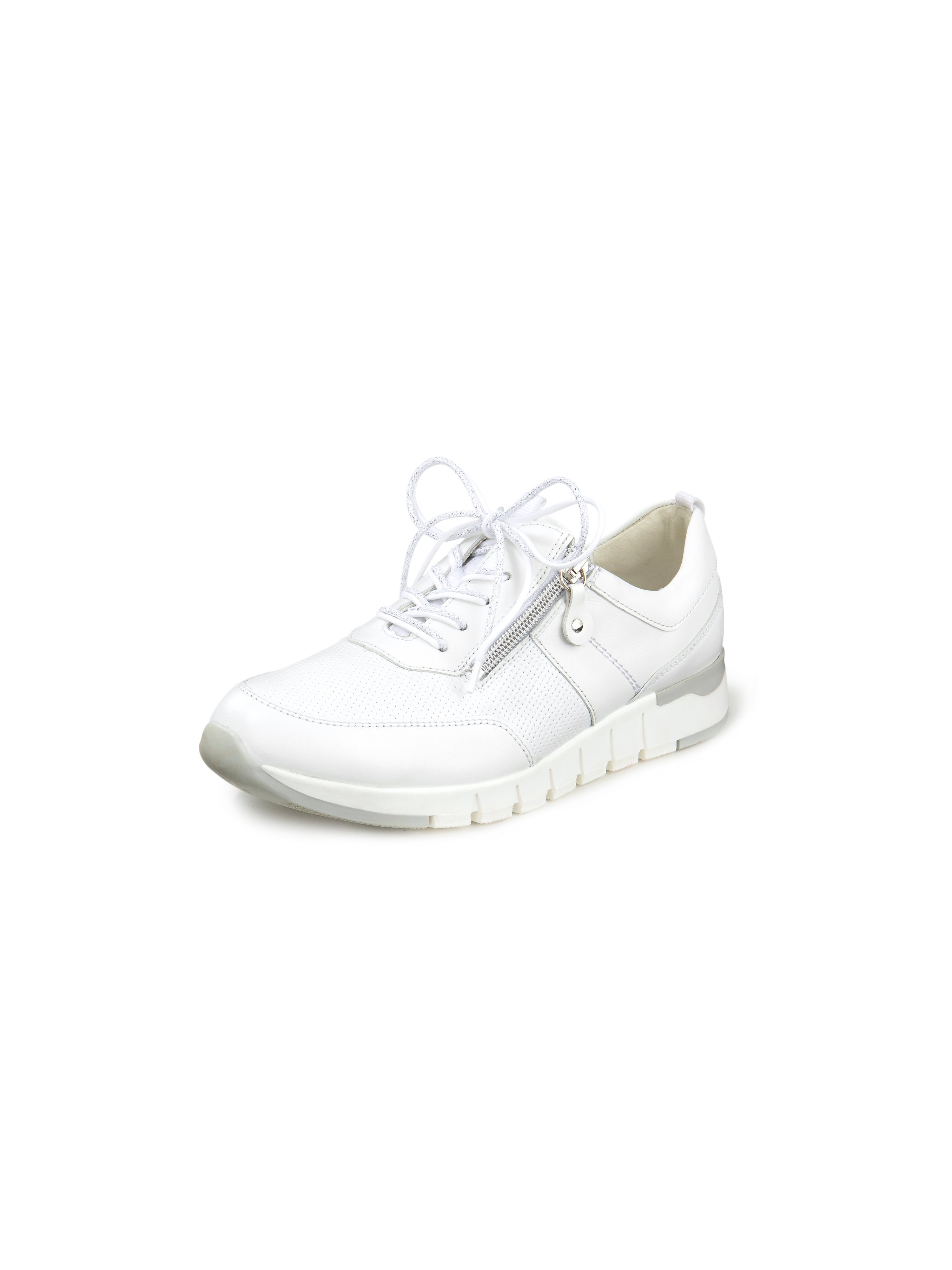 Sneakers Petra van rundleer Van Waldläufer wit