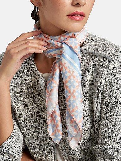 Basler - Sjaaltje van 100% zijde met bloemmotieven