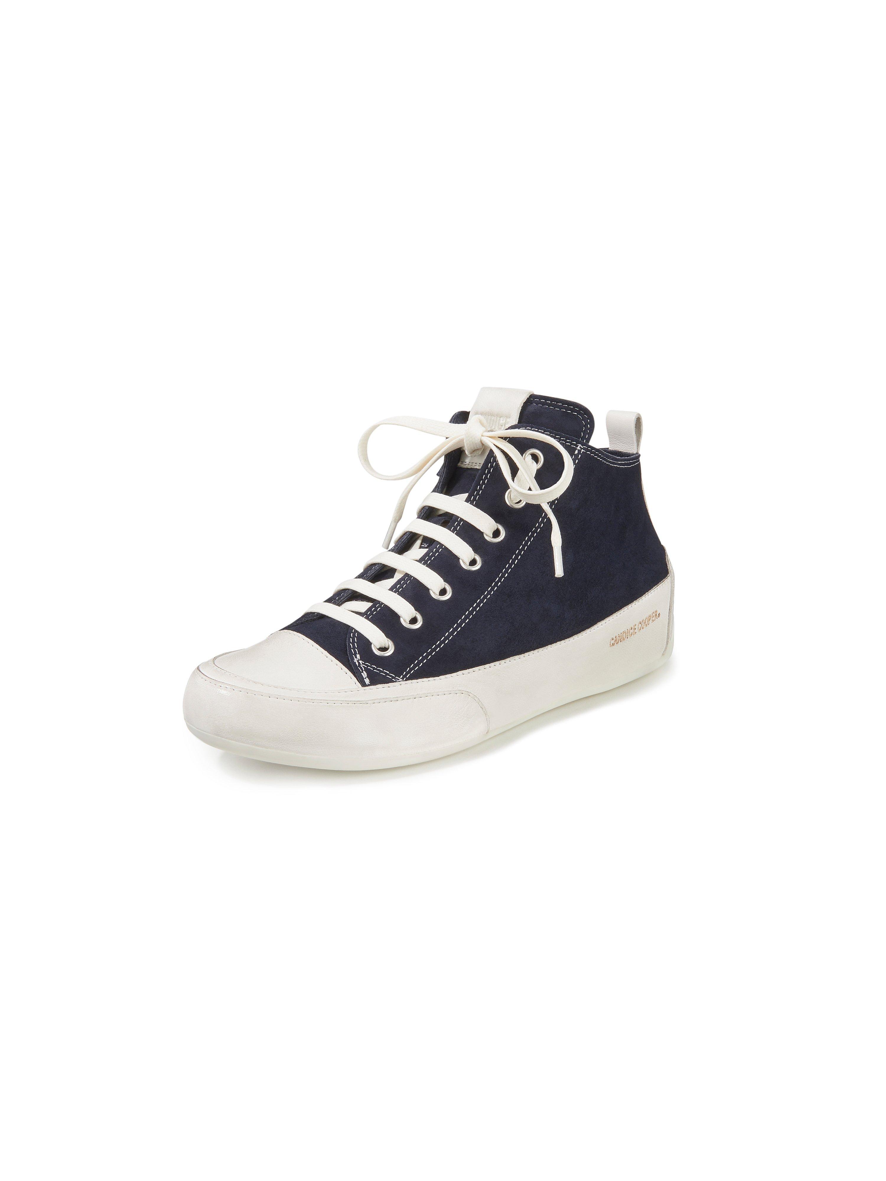 sneakers Mid van geitensuèdeleer Van Candice Cooper blauw