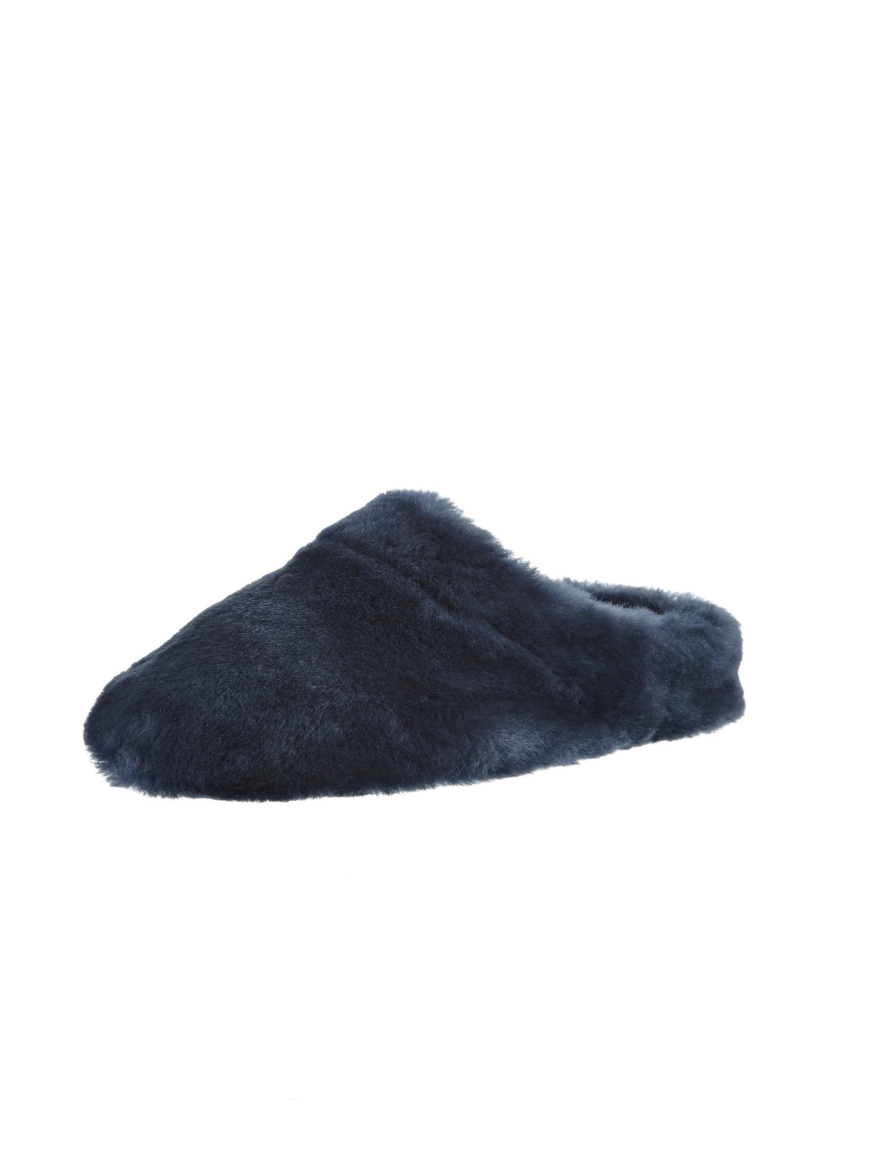 Lammypantoffels Van Giesswein blauw