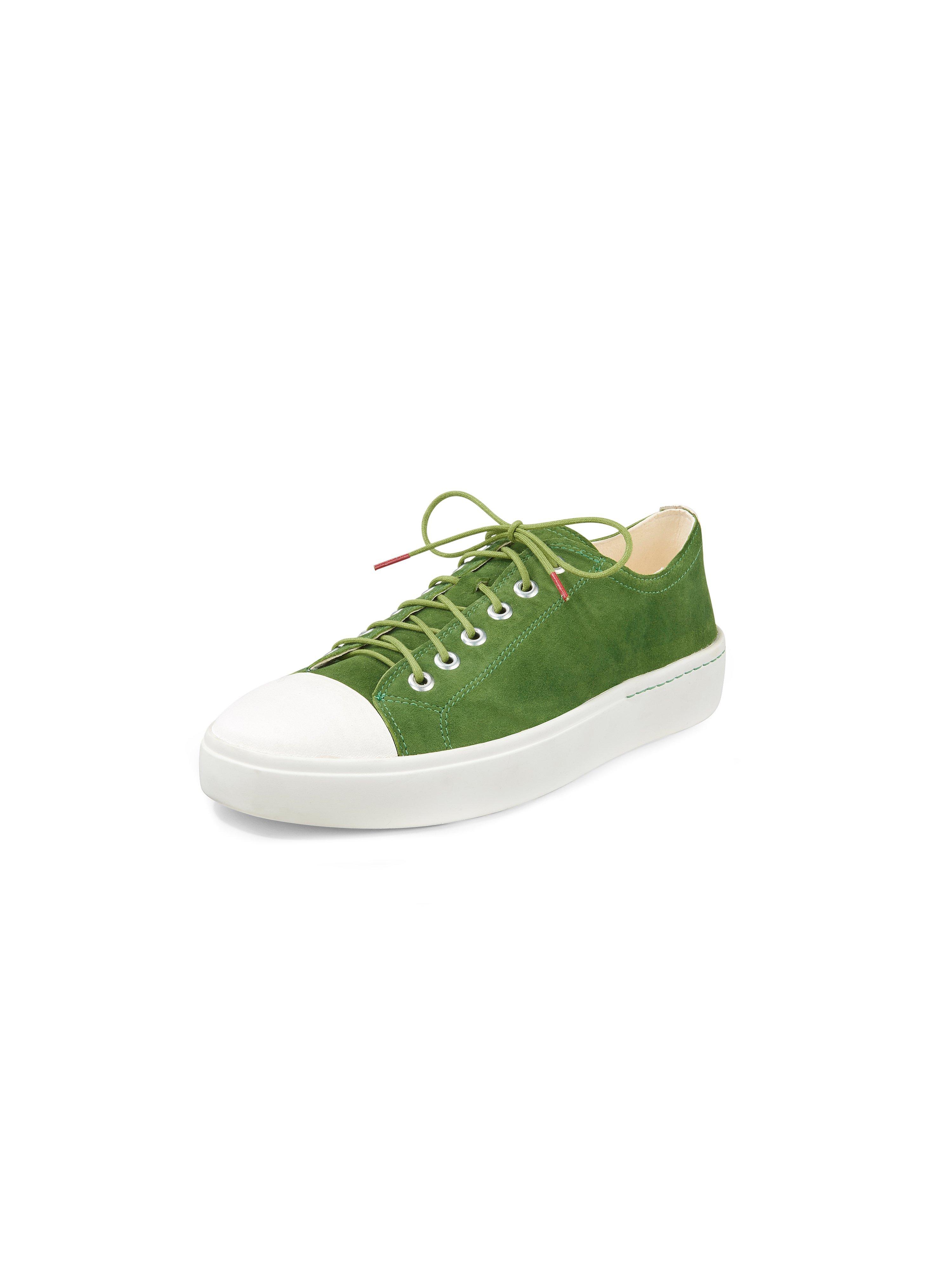 Sneakers Gring van geitensuèdeleer Van Think! groen