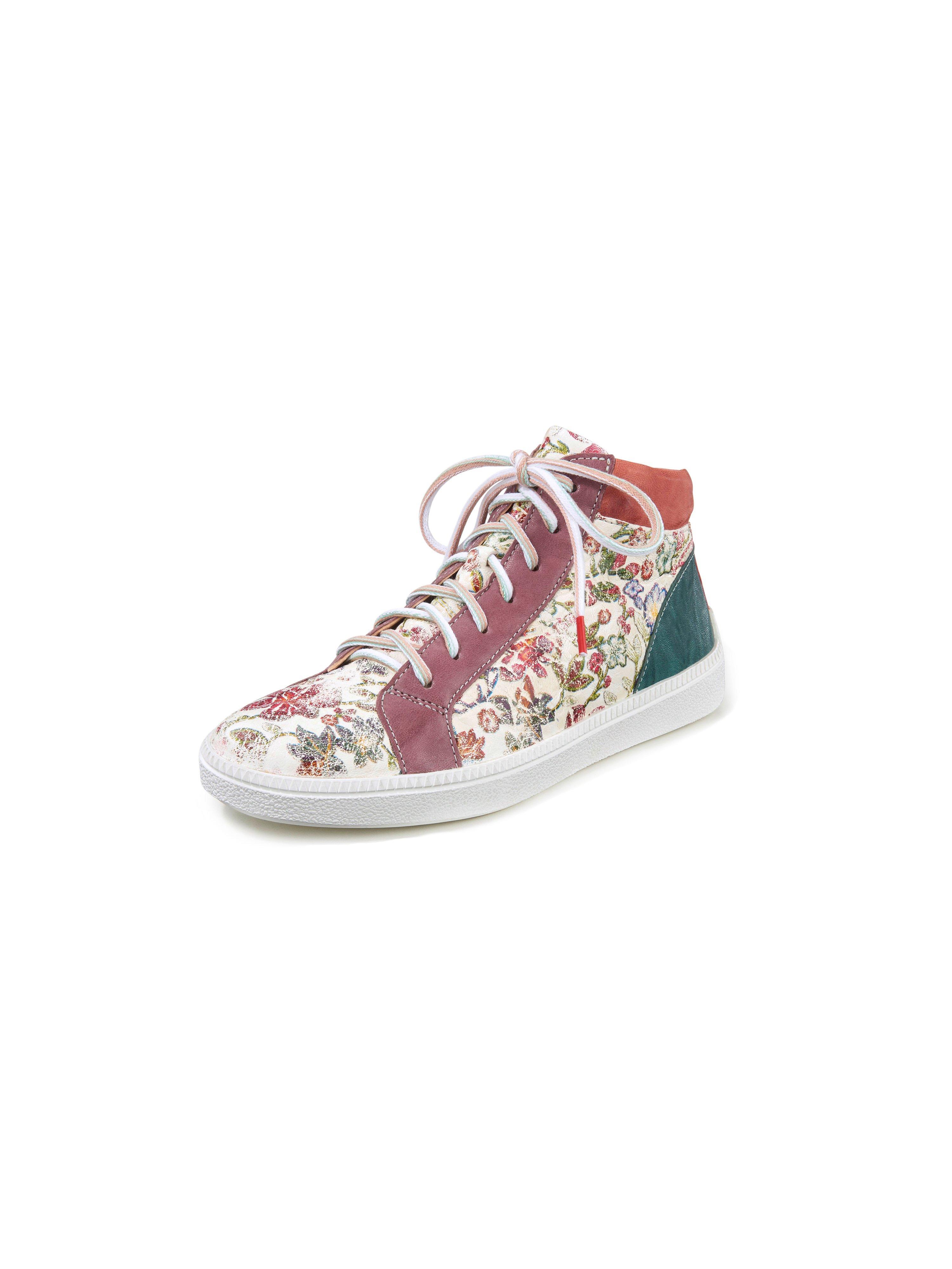 Enkelhoge sneakers Turna van geitennappaleer Van Think! multicolour