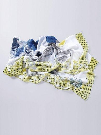 Samoon - Vävd scarf med grafiskt prickmönster