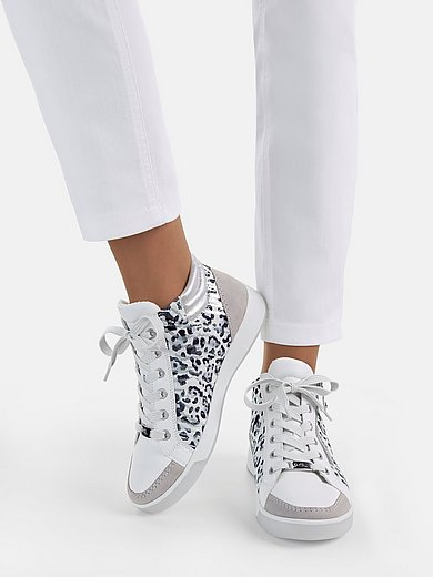 ARA - Calf nappa and kidskin suede sneakers
