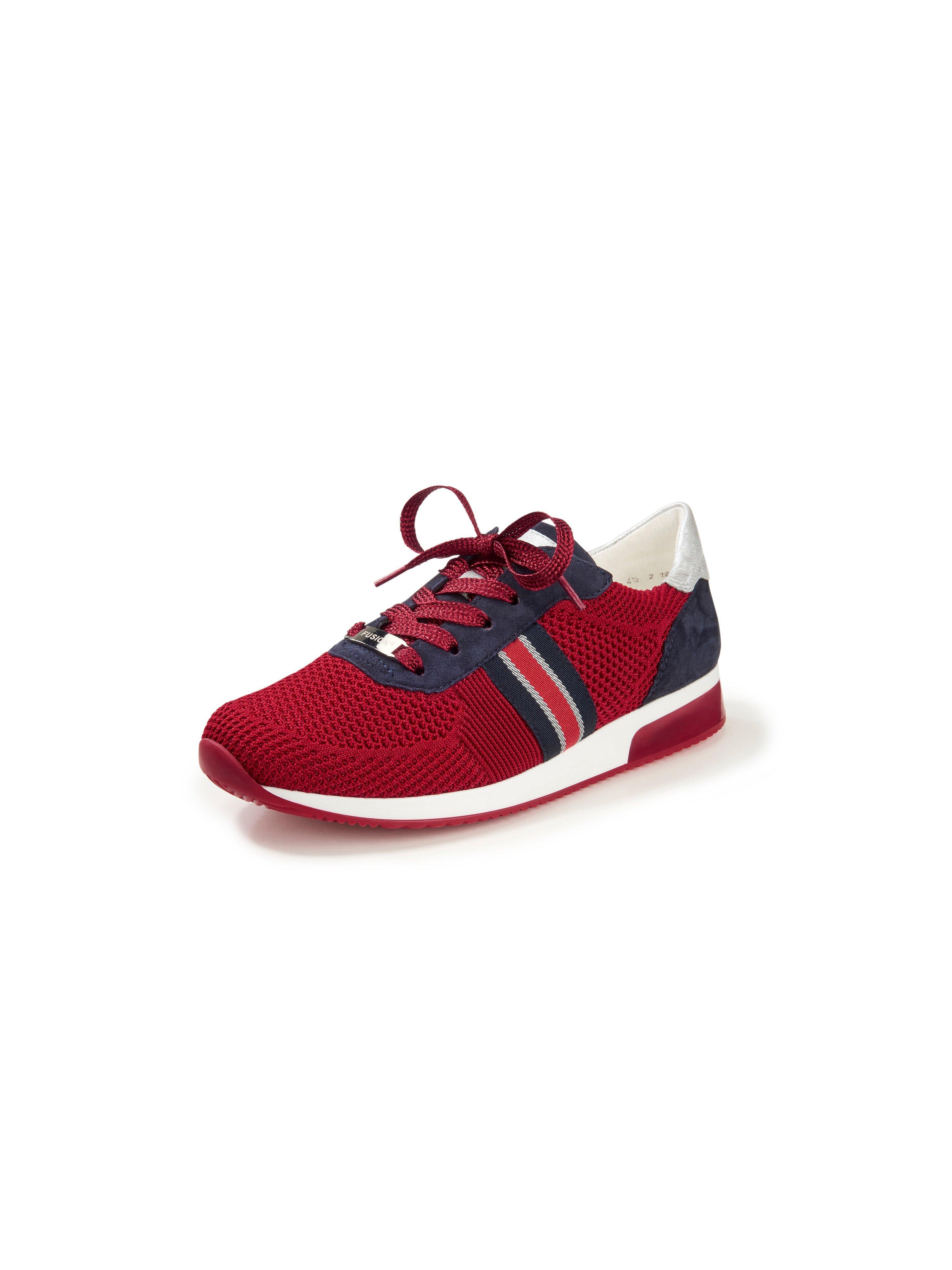 Sneakers Lissabon Fusion4 van textielmateriaal Van ARA rood