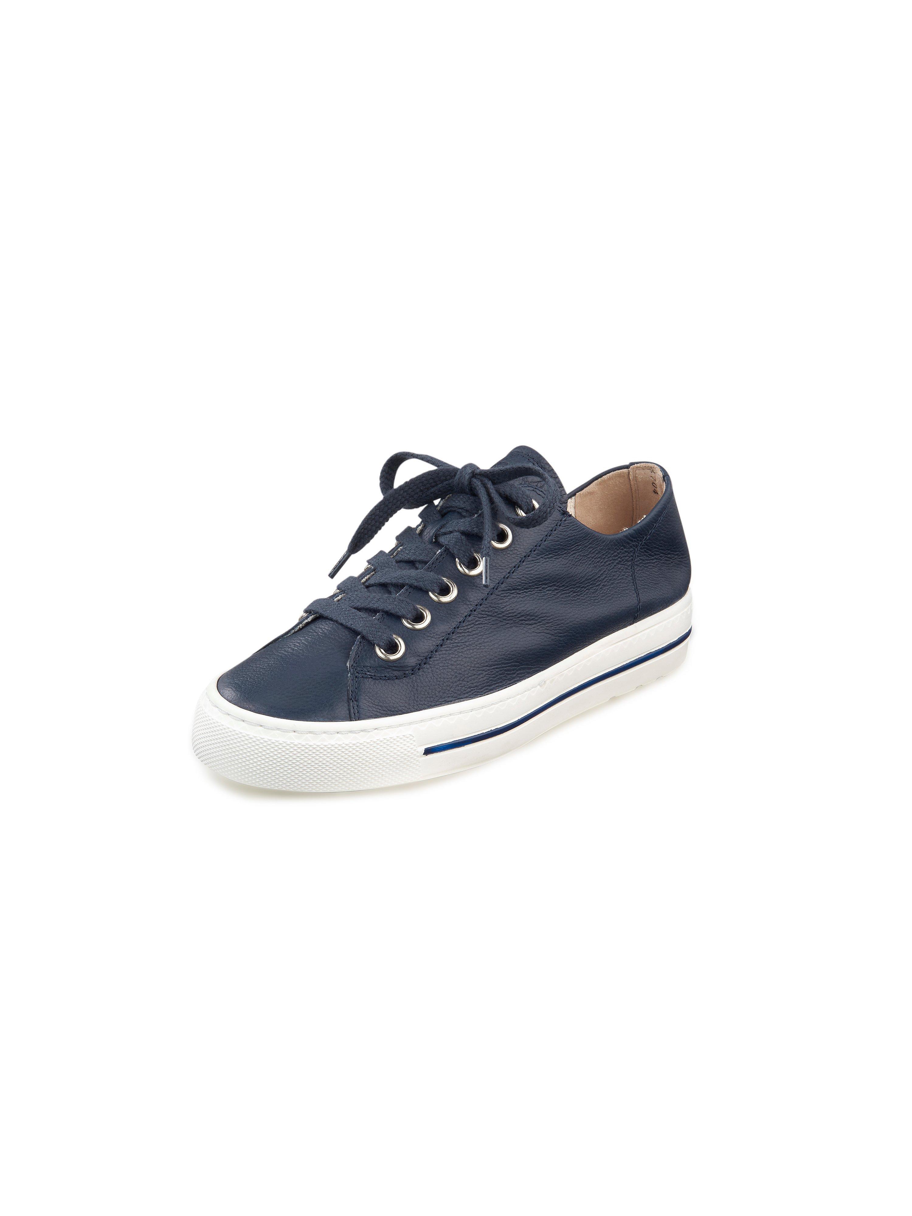 Sneakers van kalfsnappaleer Van Paul Green blauw