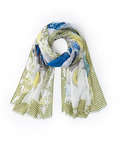 Via Appia Due - L'écharpe à mix de motifs