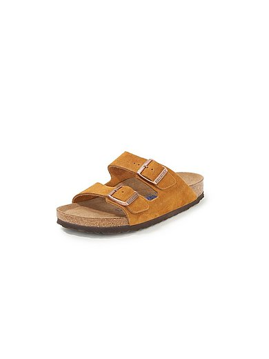 Birkenstock - Slippers Arizona van rundsuèdeleer