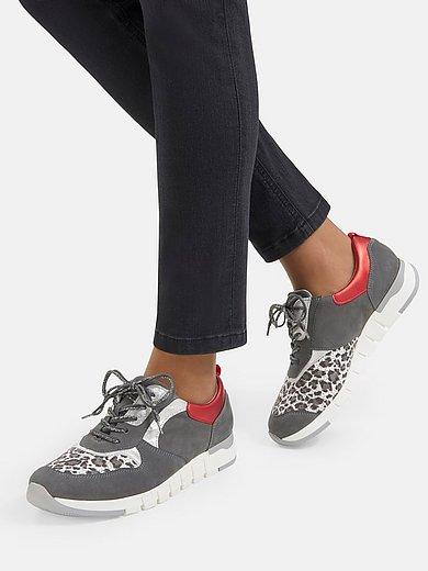 Waldläufer Orthotritt - Sneakers Petra med leopardmönstrad stretch