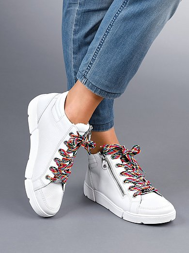 ARA - Sneakers Rom High Soft van kalfsleer