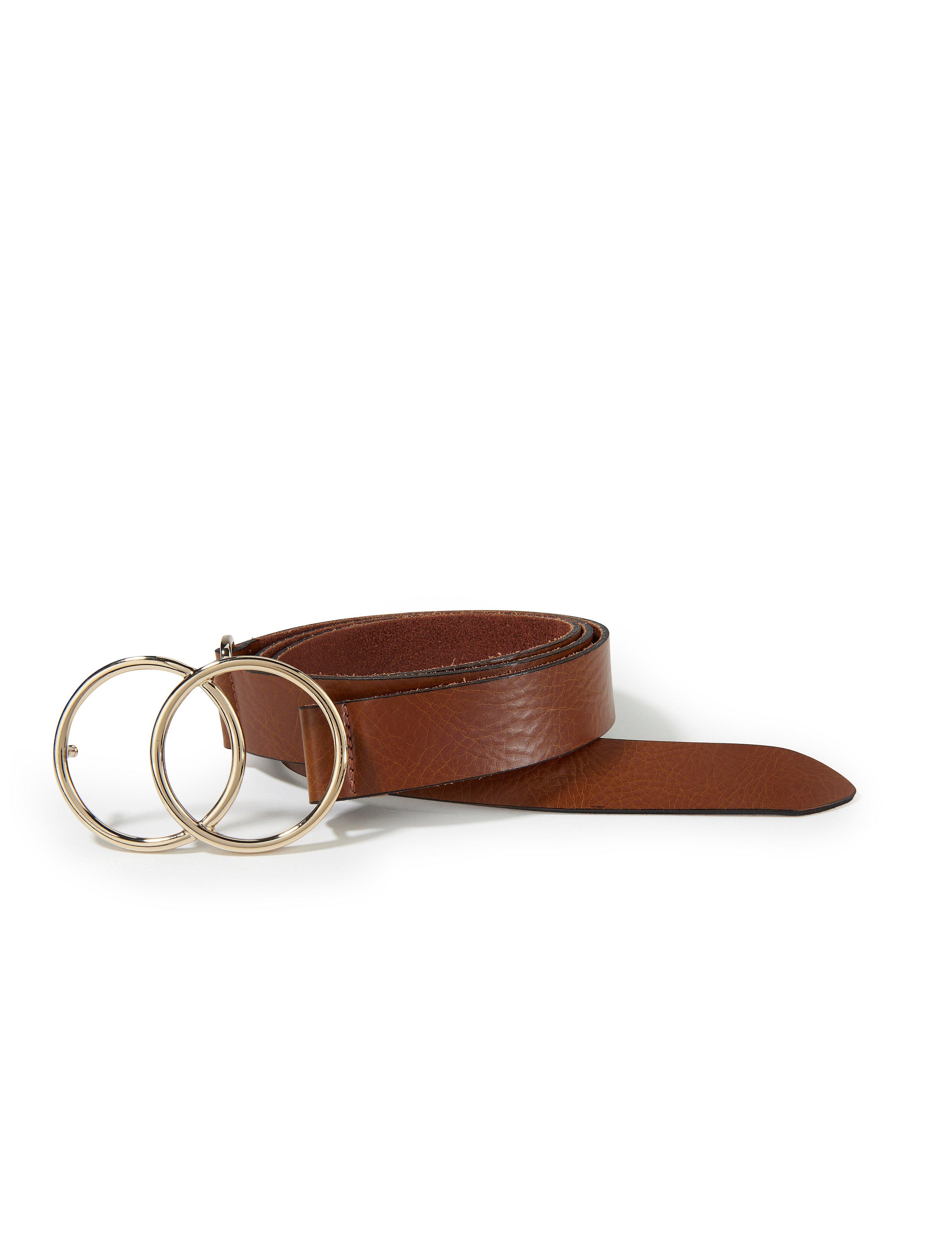 La ceinture 100% cuir  MYBC marron taille 95