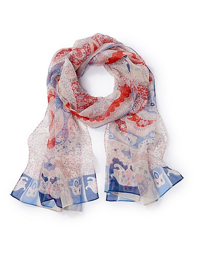 Roeckl - Sjaal van 100% zijde met paisleydessin