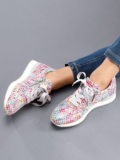 Gabor - Les sneakers avec motif pied-de-poule