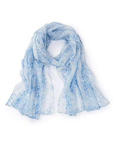 Uta Raasch - Sjaal met slangenprint van 100% zijde