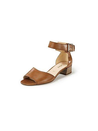 Gabor - Sandaaltjes van leer met verstelbaar enkelriempje