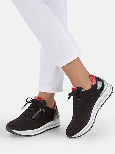 Gabor Comfort - Les sneakers en cuir velours de chèvre