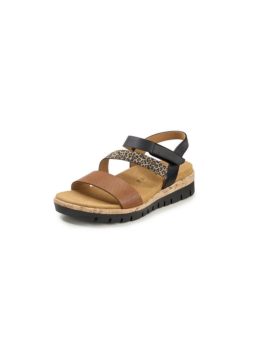 gabor comfort - Keil-Sandalette  schwarz Größe: 37