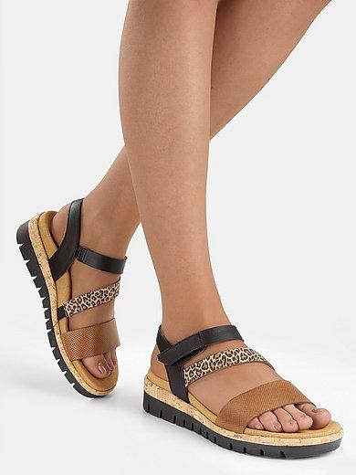 Gabor Comfort - Sandaaltjes van leer met sleehak