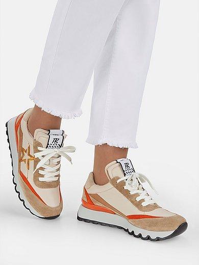 Paul Green - Sneakers van kalfsnappaleer met suèdeleer