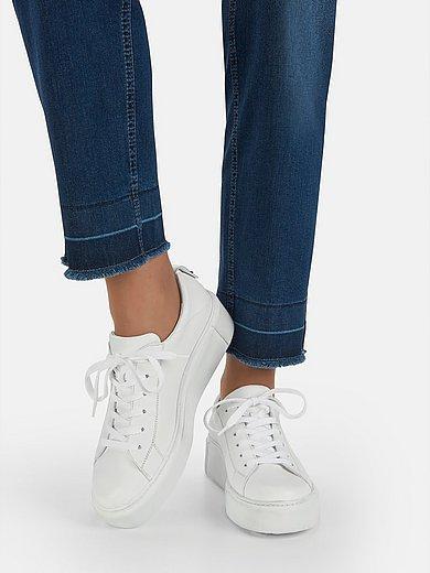Paul Green - Sneakers met plateauzool van leer