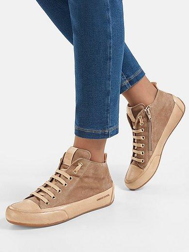 Candice Cooper - Les sneakers montants modèle Mid 100% cuir