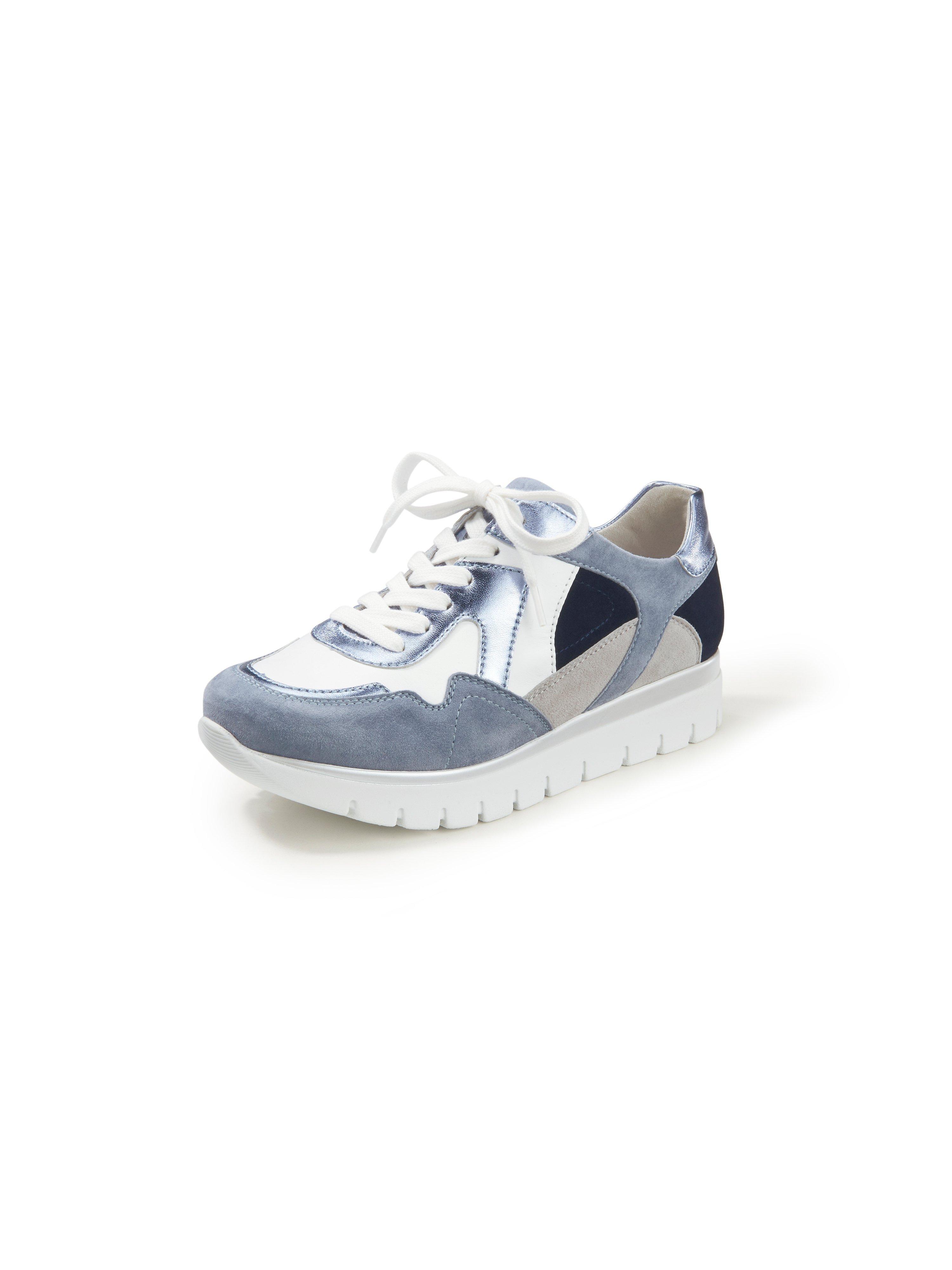 Sneakers van kalfsnappaleer Van Semler wit