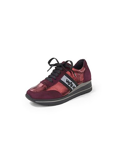 Melluso Walk - Sneakers in a mix of nappa leather