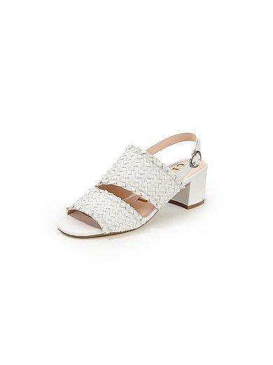 Tizian - Sandalen Fallo van gevlochten geitenleer