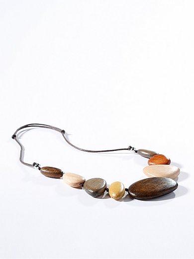 Peter Hahn - Le sautoir avec galets en bois
