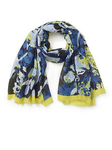 FRAPP - Geweven sjaal met bloemen