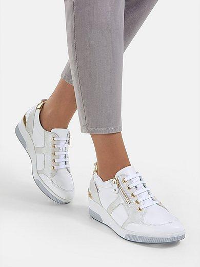 Mobils - Sneakers met sleehak Trudie van kalfsnappaleer