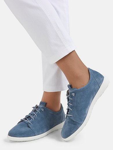 Ganter - Sneakers van kalfssuèdeleer