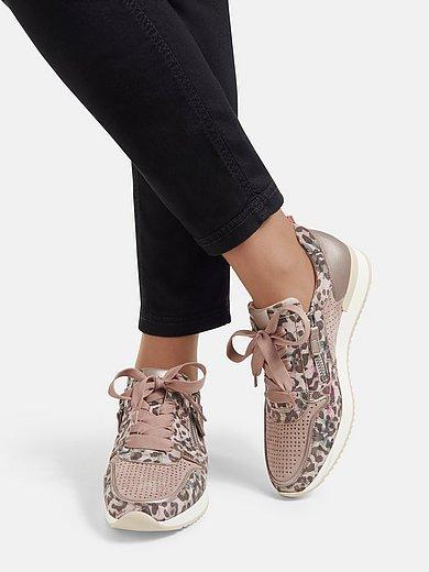 Gabor - Les sneakers en cuir velours de chèvre