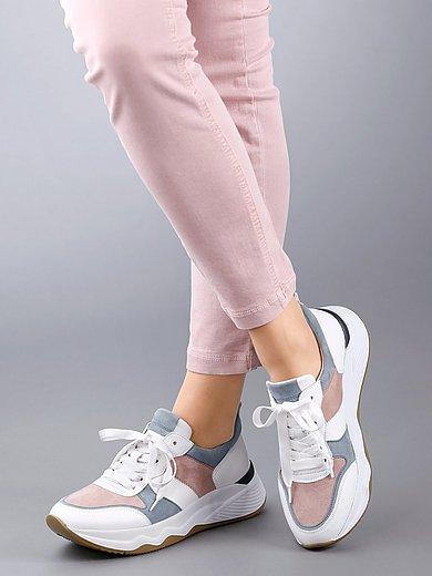 Gabor - Sneakers van kalfsnappa- met geitensuèdeleer