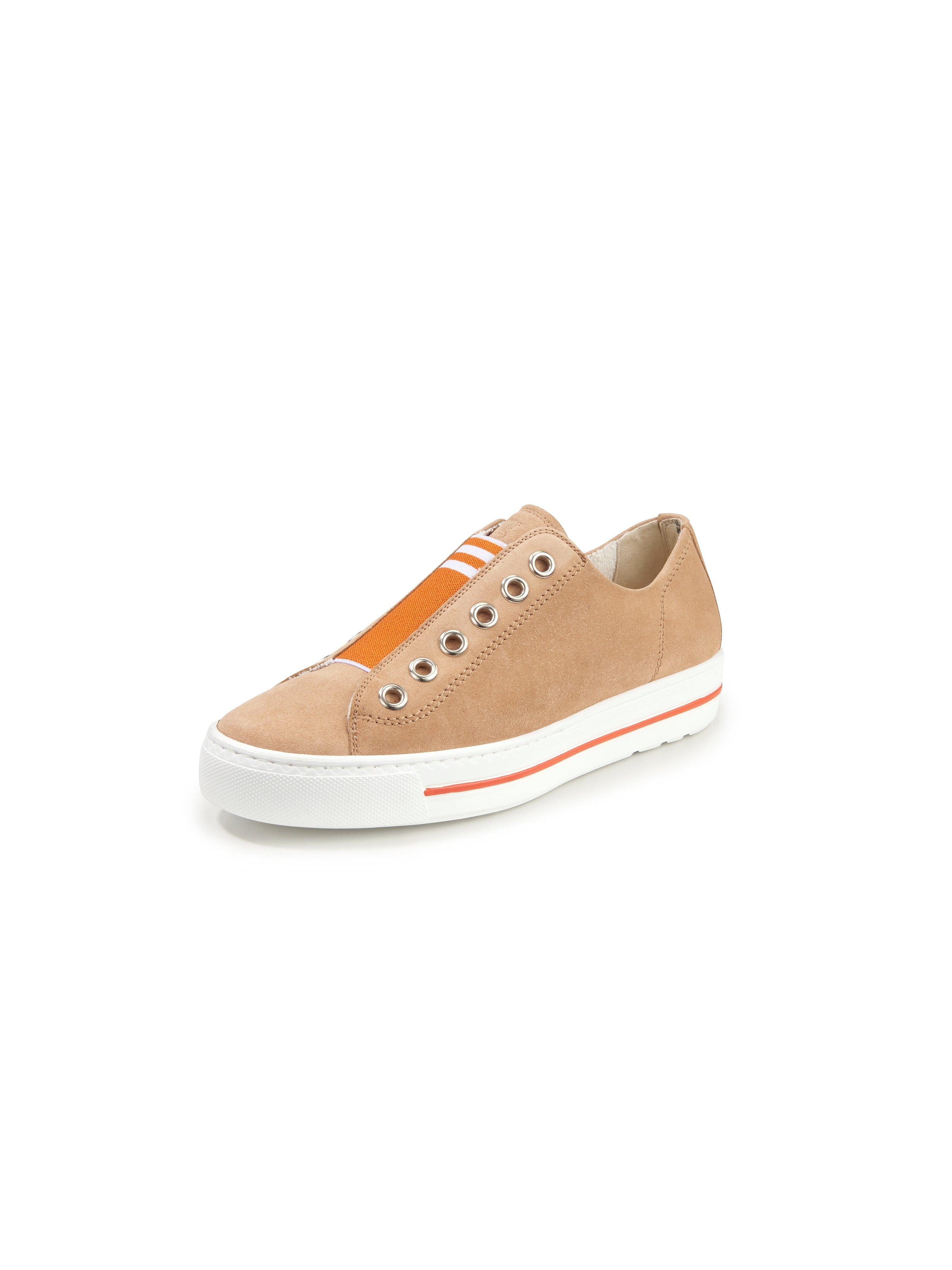 Sneakers van leer Van Paul Green beige