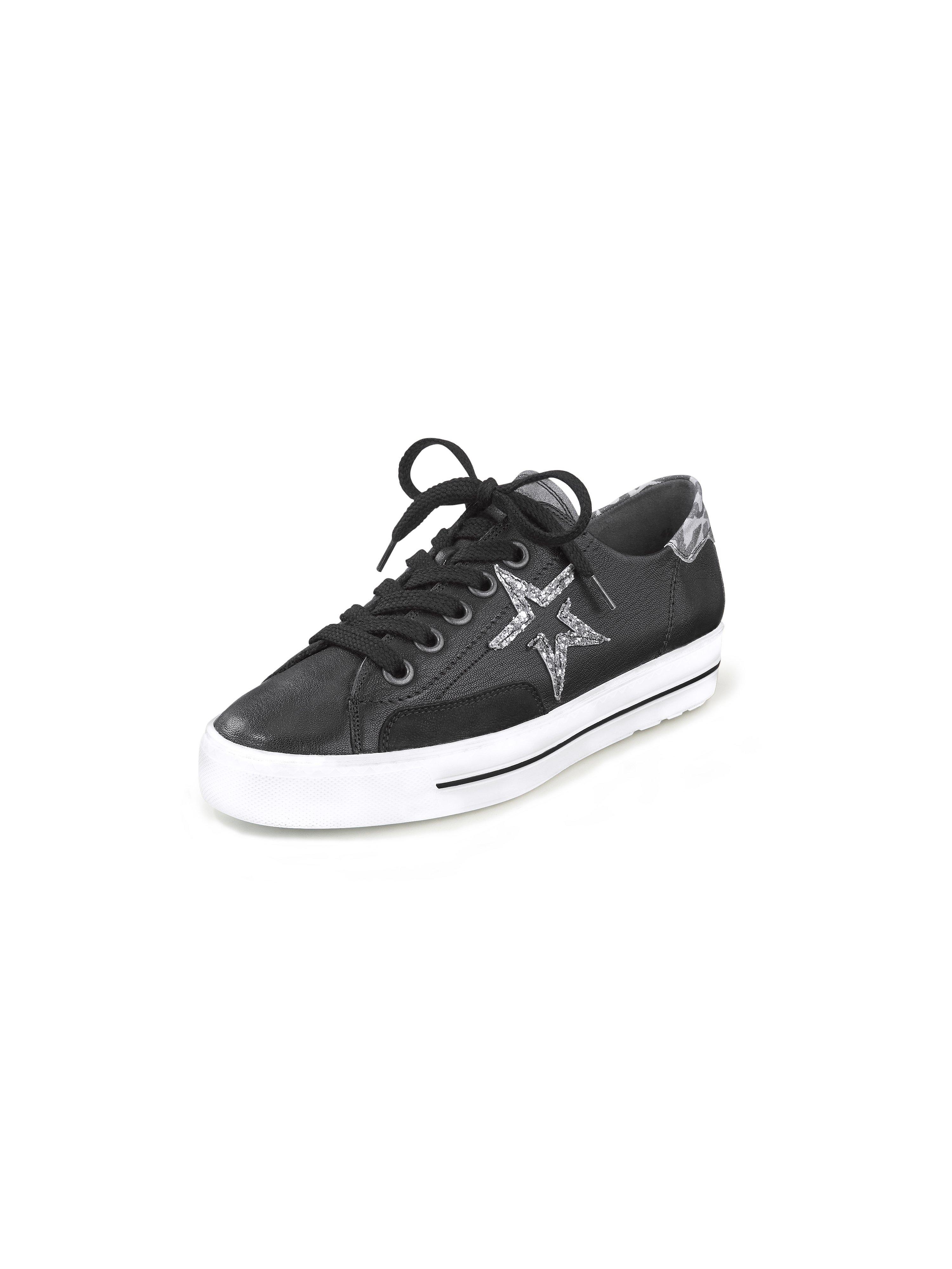Sneakers met stermotief Van Paul Green zwart