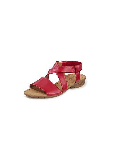 gabor schuhe damen rot sandalen