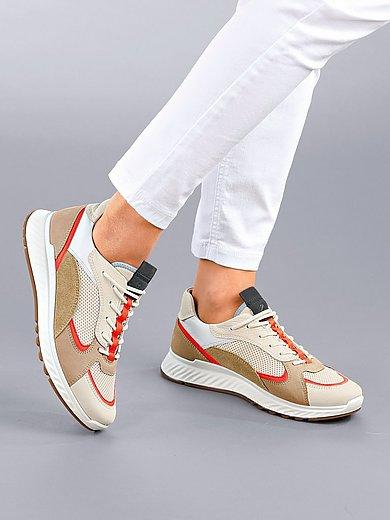 Ecco - Sneakers ST.1 W van rundnubuck- en nappaleer