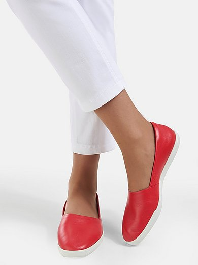 Ecco - Loafers Simpil W in cowhide leather - red
