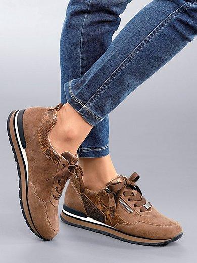 Gabor Comfort - Sneakers van geitensuèdeleer met Opti Fit-voetbed