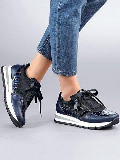 Gabor Comfort - Sneakers van rundnappaleer met krokomotief