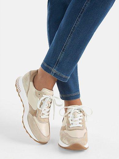 Paul Green - Sneakers van lamsnappa- en kalfssuèdeleer