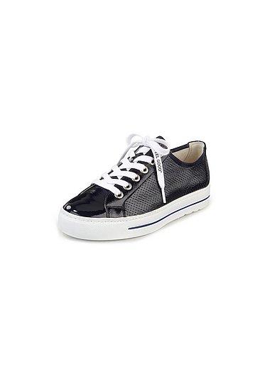 Paul Green - Sneakers van gekreukt kalfslakleer