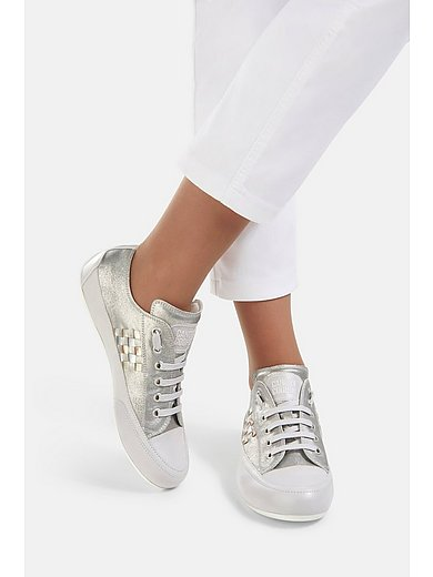Candice Cooper - Sneakers Carina van geitensuèdeleer