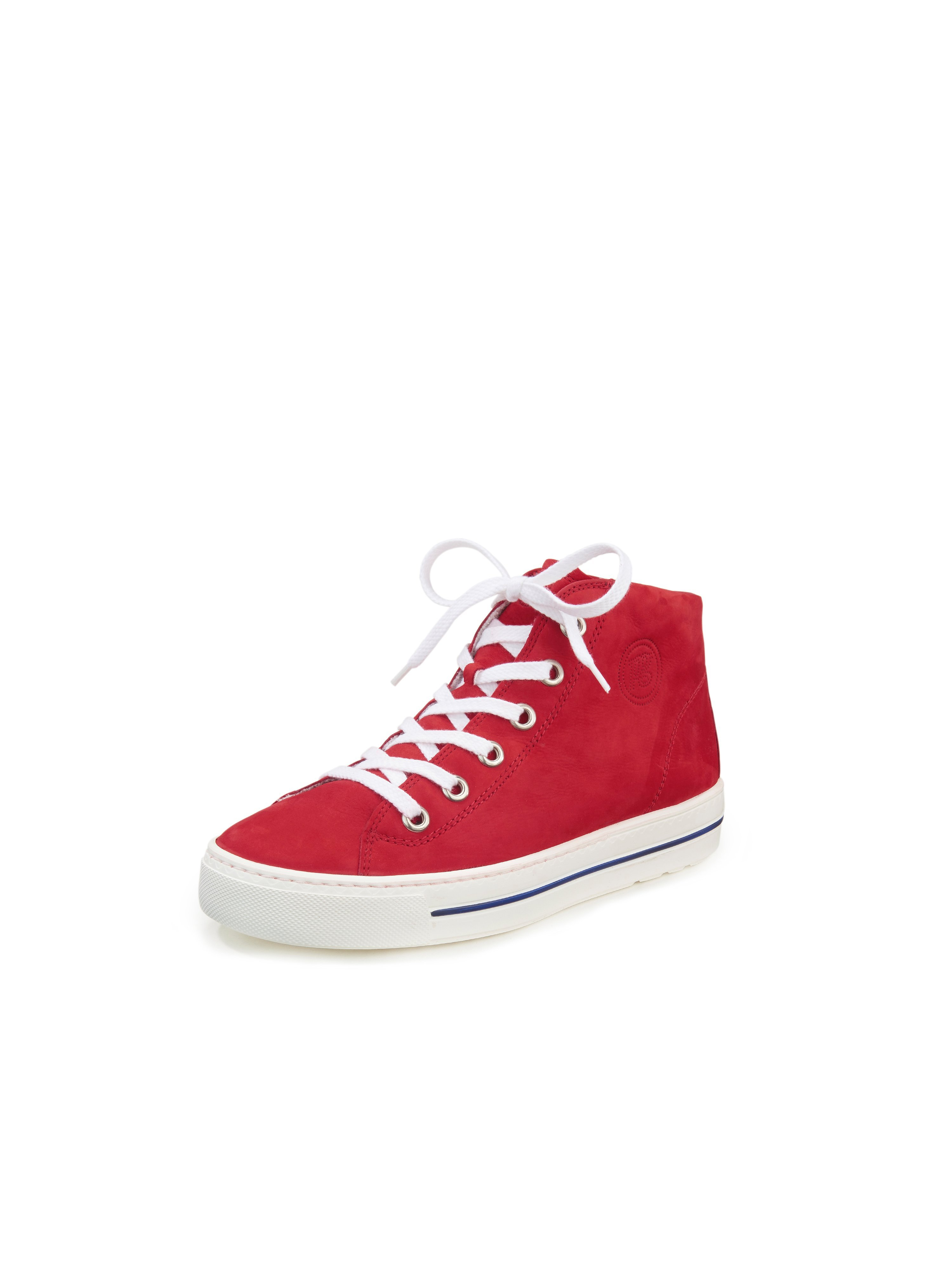 Ankle-high sneakers Paul Green red