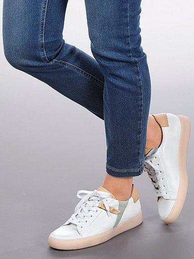 Paul Green - Sneakers van chroomvrij gelooid nappaleer