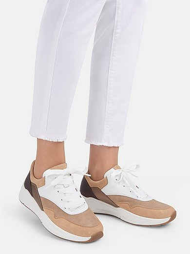 Gabor Comfort - Sneakers van kalfssuèdeleer met Opti Fit-voetbed